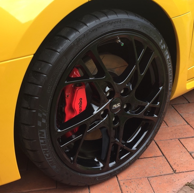 Wheel car detailing near me completed by Maitland Auto Detailing on a Megane
