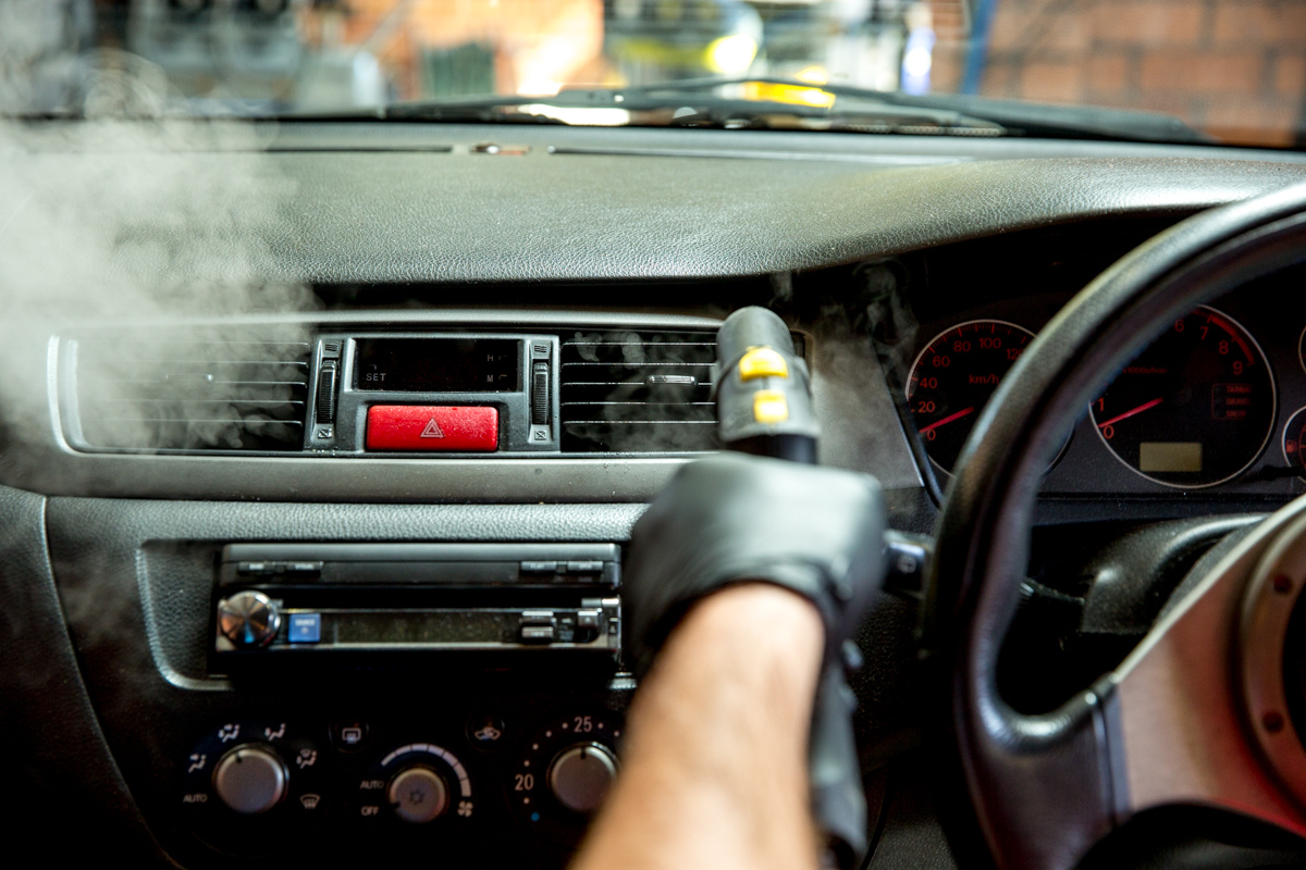 Interior car detailing near me by Maitland Auto Detailing in Port Stephens NSW