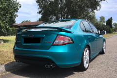 Mobile car detailing near me by Maitland Auto Detailing completed on aqua car