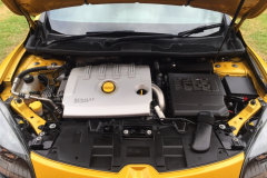 Engine degrease of a Megan completed by Maitland Auto Detailing in Port Stephens NSW