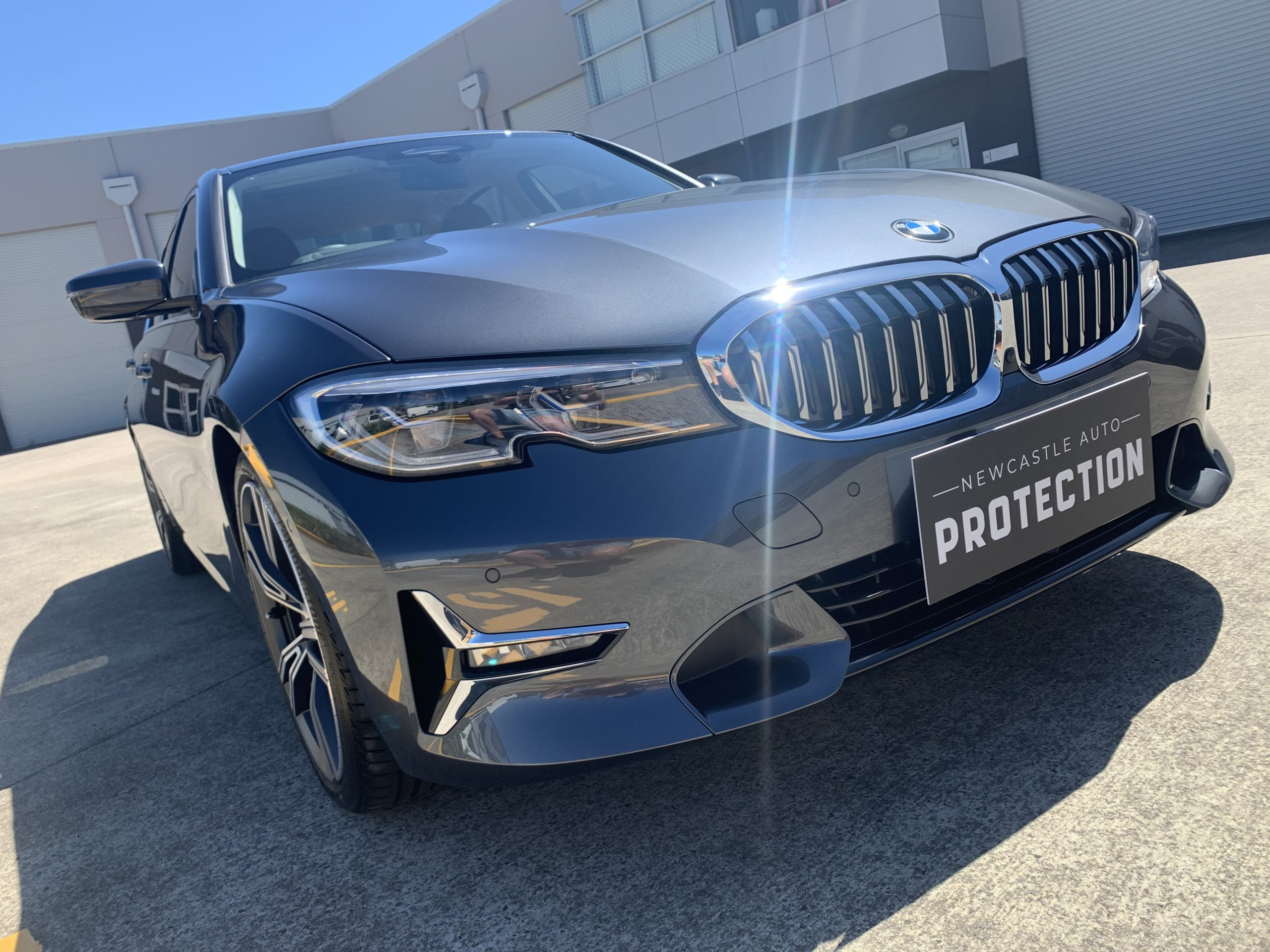 Ceramic Coating Maitland - paint protection on a silver vehicle completed by Newcastle Auto Protection
